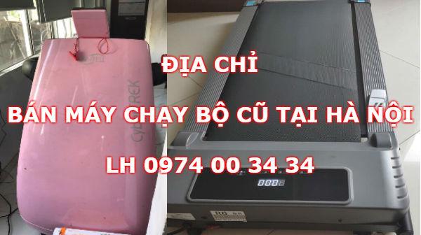 Địa chỉ bán máy chạy bộ cũ tại Hà Nội