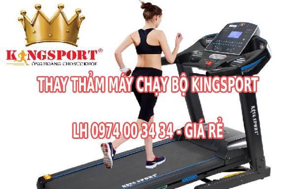Thay thảm máy chạy bộ kingsport